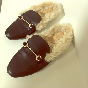4abadf077d a new day Shoes | Target Gucci Style Fur Lined Loafers | Poshmark